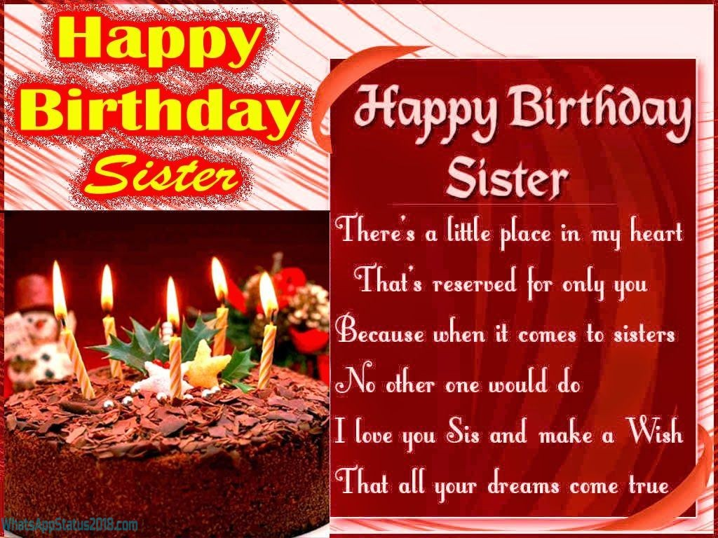 Birthday Wishes For Sister In Hindi | Janamdin Shayari in Hindi | Birthday Shayari For Sister