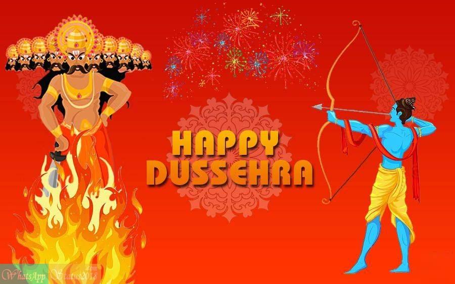 Happy Dussehra 2018 - Dussehra Wishes, Vijayadashami, Dussehra Messages, WhatsApp Status