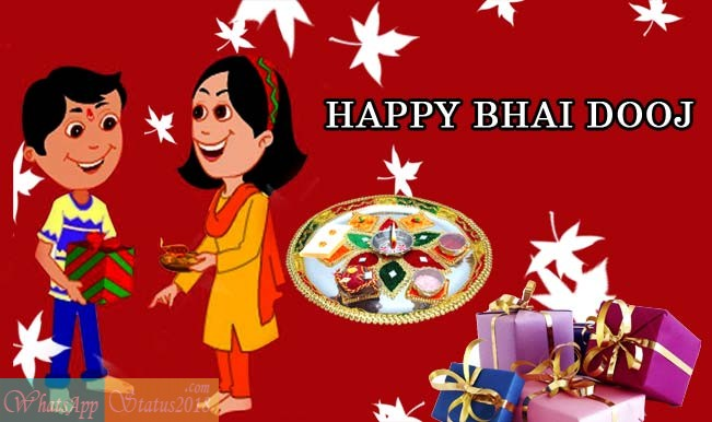 Bhai Dooj 2019 Images, Wishes, Greetings in Hindi for Brother | Bhai Dooj Status Wishes