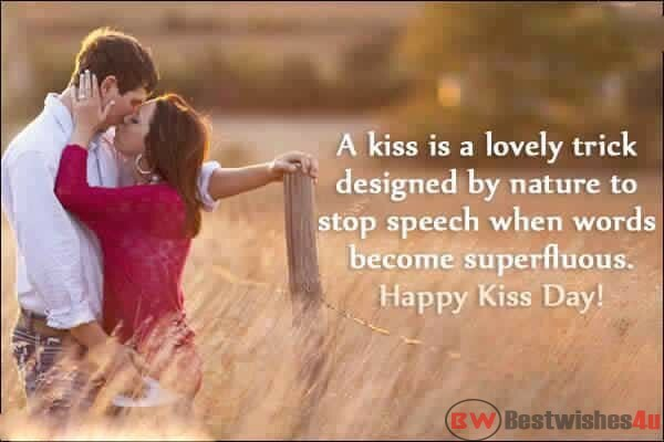 Happy Kiss Day 2019 Images, Wishes, Wallpapers, Kiss Day Quotes