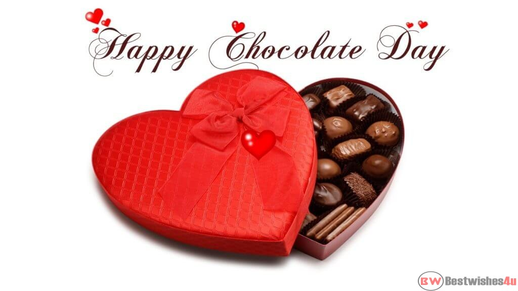 Happy Chocolate Day images and quotes for sweet love