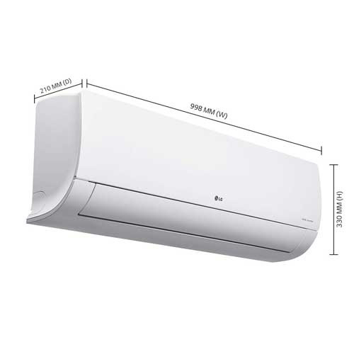 Buy LG 1.5 Ton 5 Star Dual Inverter Split AC (Copper, KS-Q18HNZD, White)