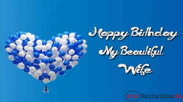 Happy Birthday Wishes for Wife with images