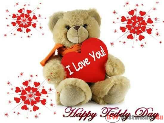 Happy Teddy Day Shayari In Hindi, Teddy Day Wishes & Quote, Happy Teddy Day Images